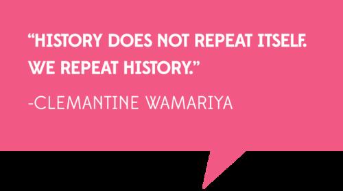 Clemantine Wamariya quote