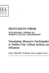 Translating Women's Participation in Politics into Critical Actions and Influence
