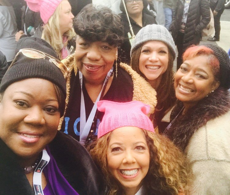 lucy mcbath women's march