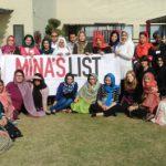 Mina's List workshop