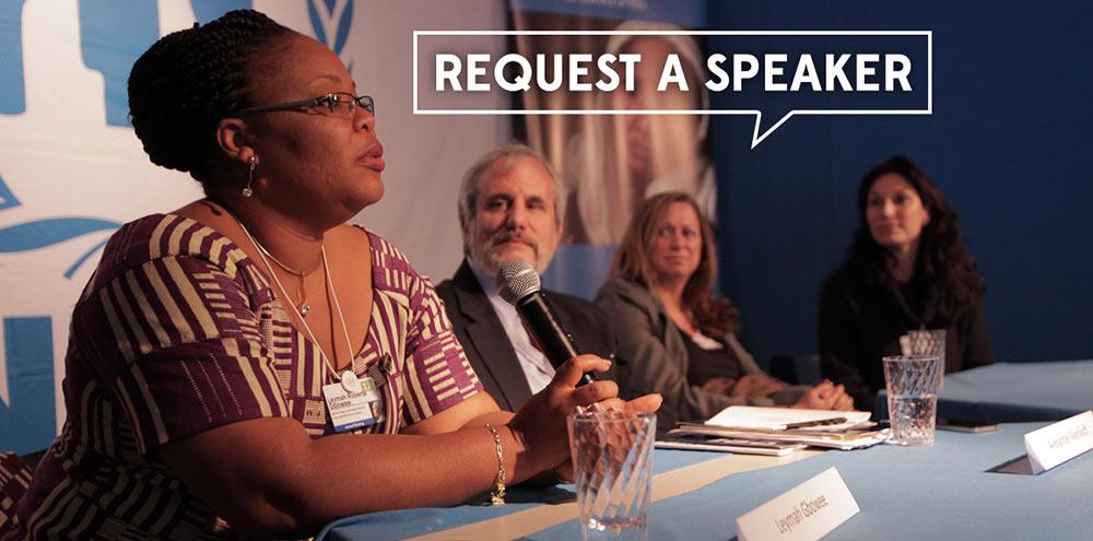 Peace is Loud Request a Speaker