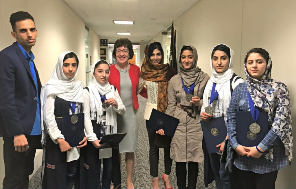 Afghan Girls' Robotics Team