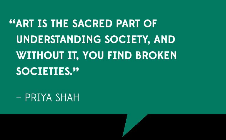 Priya Shah quote